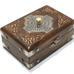 Celtic Card Box (Locking)