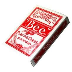 Jeu de cartes Bee (rouge)